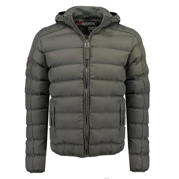 Clothing Boy Duffel coats Geographical Norway BOMBE BOY Grey