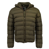 Clothing Boy Duffel coats Geographical Norway BOMBE BOY Kaki