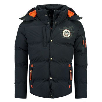Clothing Boy Duffel coats Geographical Norway VERVEINE BOY Marine