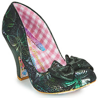 Shoes Women Heels Irregular Choice NICK OF TIME Green