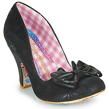 Shoes Women Heels Irregular Choice NICK OF TIME Black