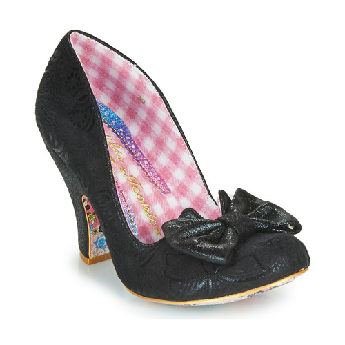 Shoes Women Heels Irregular Choice NICK OF TIME Black