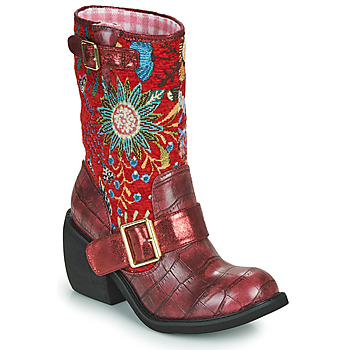 Shoes Women Mid boots Irregular Choice GREAT ESCAPE Red