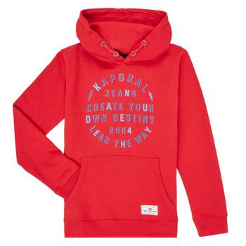 Clothing Boy Sweaters Kaporal OCTAV Red