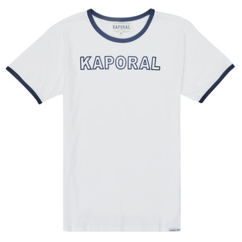 Clothing Boy Short-sleeved t-shirts Kaporal ONYX White