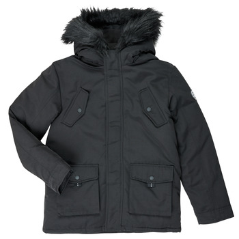 Clothing Boy Parkas Kaporal OPAK Black