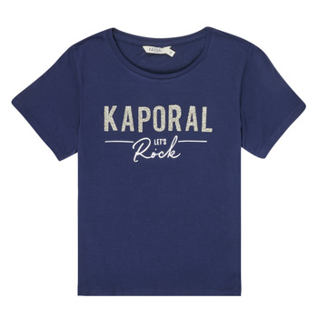 Clothing Girl Short-sleeved t-shirts Kaporal MAPIK Marine