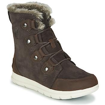 Shoes Women Mid boots Sorel SOREL EXPLORER JOAN Brown