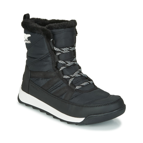 Shoes Women Mid boots Sorel WHITNEY II SHORT LACE Black