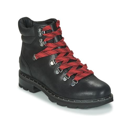 Shoes Women Mid boots Sorel LENNOX HIKER Black