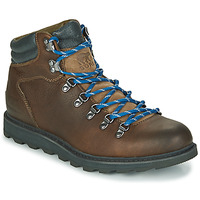 Shoes Men Mid boots Sorel MADSON HIKER II WP Brown
