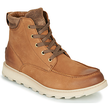 Shoes Men Mid boots Sorel MADSON II MOC TOE WP Brown