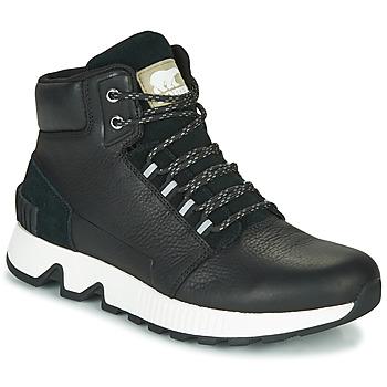 Shoes Men Hi top trainers Sorel MAC HILL MID LTR WP Black