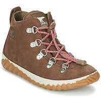 Shoes Children Mid boots Sorel YOUTH OUT N ABOUT™ CONQUEST Brown