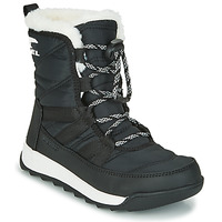 Shoes Children Mid boots Sorel YOUTH WHITNEY™ II SHORT LACE Black