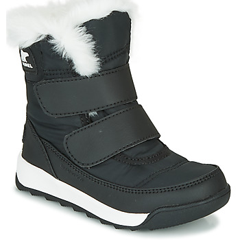 Shoes Children Mid boots Sorel CHILDRENS WHITNEY II STRAP Black