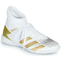 Shoes Football shoes adidas Performance PREDATOR 20.3 IN White / grey / turquoise / Gold