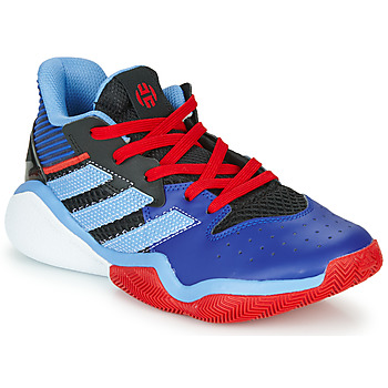 Shoes Boy Basketball shoes adidas Performance Harden Stepback J Blue / Red