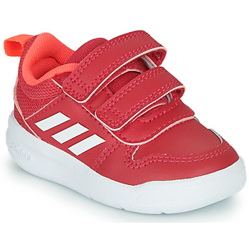 Shoes Girl Low top trainers adidas Performance TENSAUR I Pink / White