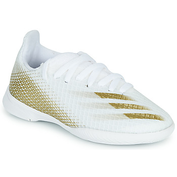 Shoes Children Football shoes adidas Performance X GHOSTED.3 IN J White