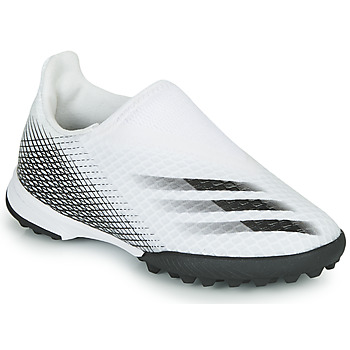 Shoes Children Football shoes adidas Performance X GHOSTED.3 LL TF J White