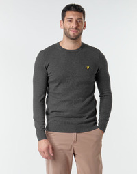 Clothing Men Jumpers Lyle & Scott KN400VC Grey