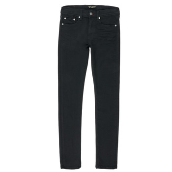 Clothing Boy Straight jeans Teddy Smith FLASH Black