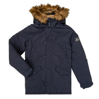 Clothing Boy Parkas Teddy Smith ASTIER Marine