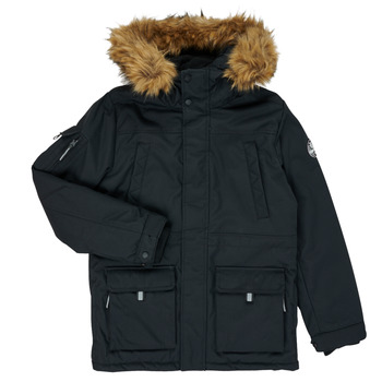 Clothing Boy Parkas Teddy Smith KILIAN Black