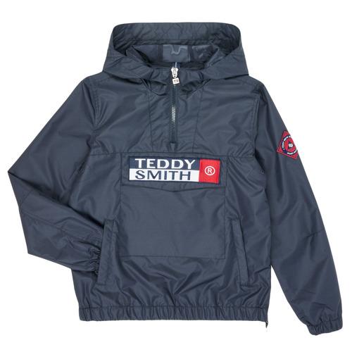 Clothing Boy Jackets Teddy Smith BANKSKI Marine