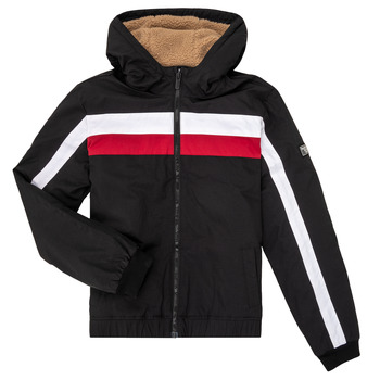 Clothing Boy Jackets Teddy Smith BROCK Black