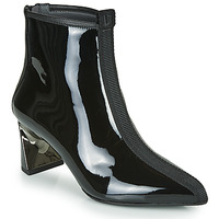 Shoes Women Ankle boots United nude LUCID MOLTEN MID Black