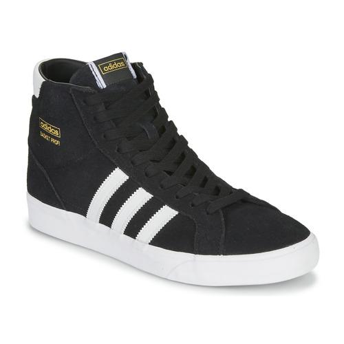 Shoes Hi top trainers adidas Originals BASKET PROFI Black