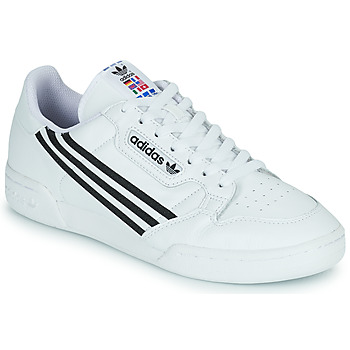 Shoes Low top trainers adidas Originals CONTINENTAL 80 White / Black