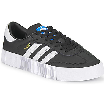 Shoes Women Low top trainers adidas Originals SAMBAROSE W Black