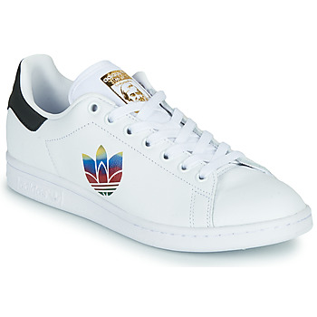 Shoes Women Low top trainers adidas Originals STAN SMITH W White / Logo