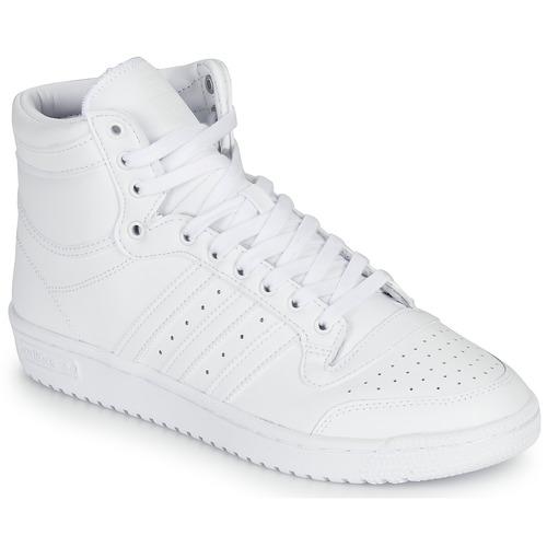 Shoes Hi top trainers adidas Originals TOP TEN White