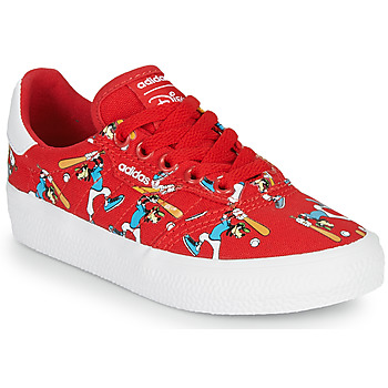 Shoes Children Low top trainers adidas Originals 3MC C X DISNEY SPORT Red