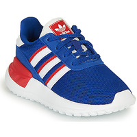 Shoes Boy Low top trainers adidas Originals LA TRAINER LITE EL Blue
