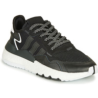Shoes Children Low top trainers adidas Originals NITE JOGGER J Black