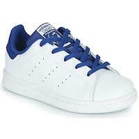 Shoes Boy Low top trainers adidas Originals STAN SMITH C White