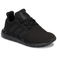 Shoes Children Low top trainers adidas Originals SWIFT RUN C Black