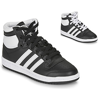 Shoes Children Low top trainers adidas Originals TOP TEN J Black
