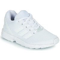 Shoes Children Low top trainers adidas Originals ZX FLUX C White