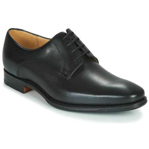 Shoes Men Derby Shoes Barker ELLON Black