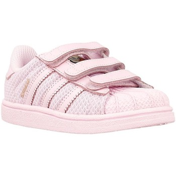 Shoes Children Low top trainers adidas Originals Superstar CF I Pink