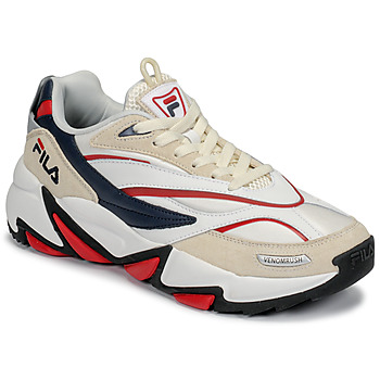 Shoes Men Low top trainers Fila RUSH White / Beige / Red