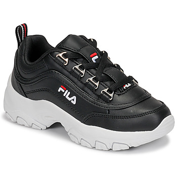 Shoes Girl Low top trainers Fila STRADA LOW KIDS Black