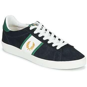 Shoes Men Low top trainers Fred Perry SPENCER SUEDE / TIPPING Blue