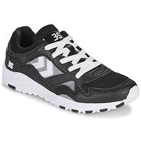 Shoes Men Low top trainers Hummel EDMONTON 3S LEATHER Black